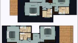 Floor Layout upstair Unit 1  2