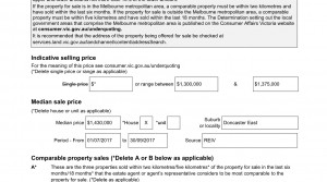 Statement of information  Internet advertising for single residential property - (House Advertising)1